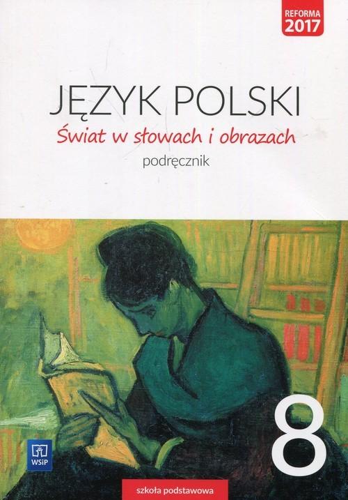 okładka Świat w słowach i obrazach 8 Podręcznik Szkoła podstawowa, Książka | Bobiński Witold