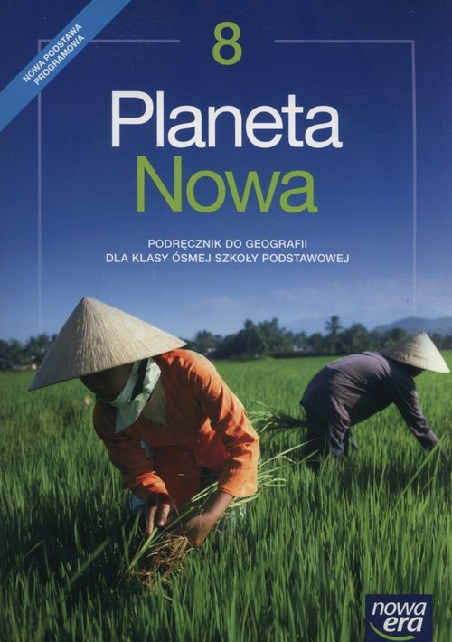 okładka Planeta Nowa 8 Podręcznik Szkoła podstawowa, Książka | Tomasz Rachwał, Dawid Szczypiński