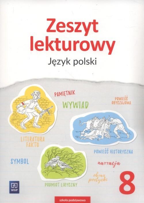 okładka Zeszyt lekturowy Język polski 8 Szkoła podstawowa, Książka   Horwath Ewa