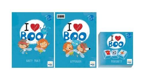 okładka I love Boo Język angielski poziom B+ Pakiet, Książka |