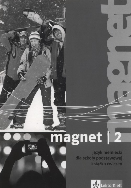 okładka Magnet 2 Książka ćwiczeń Szkoła podstawowa, Książka |