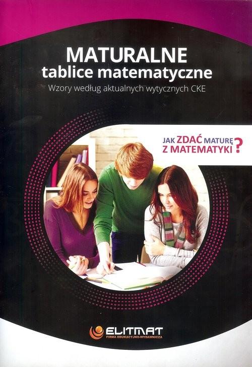 okładka Maturalne tablice matematyczne, Książka | Praca Zbiorowa