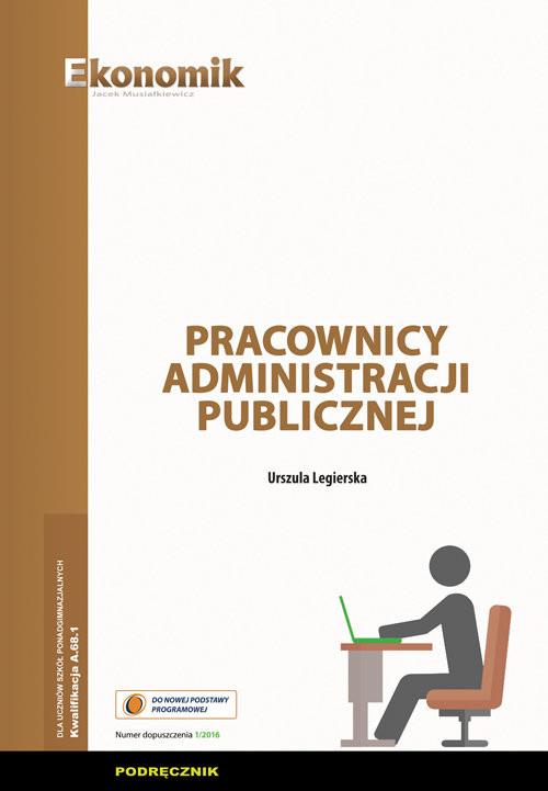 okładka Pracownicy administracji publicznej Podręcznik, Książka | Legierska Urszula