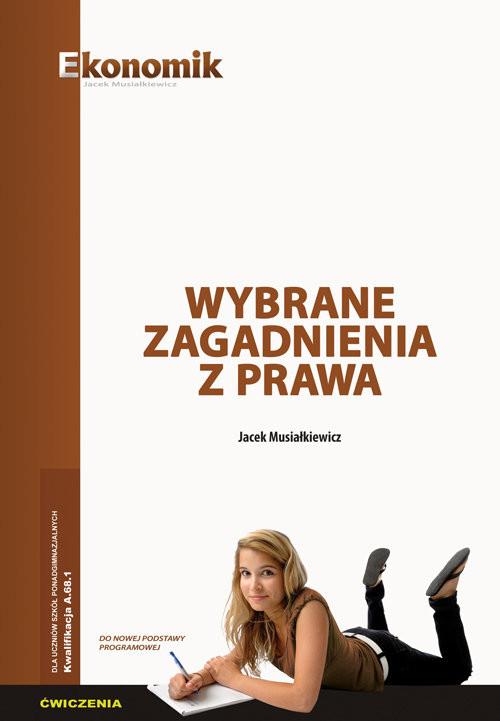 okładka Wybrane zagadnienia z prawa ćwiczenia, Książka | Musiałkiewicz Jacek