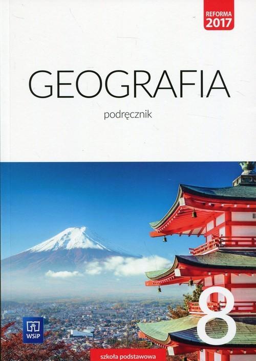 okładka Geografia 8 Podręcznik Szkoła podstawowa, Książka | Agnieszka Lechowicz, Maciej Lechowicz, Stanki