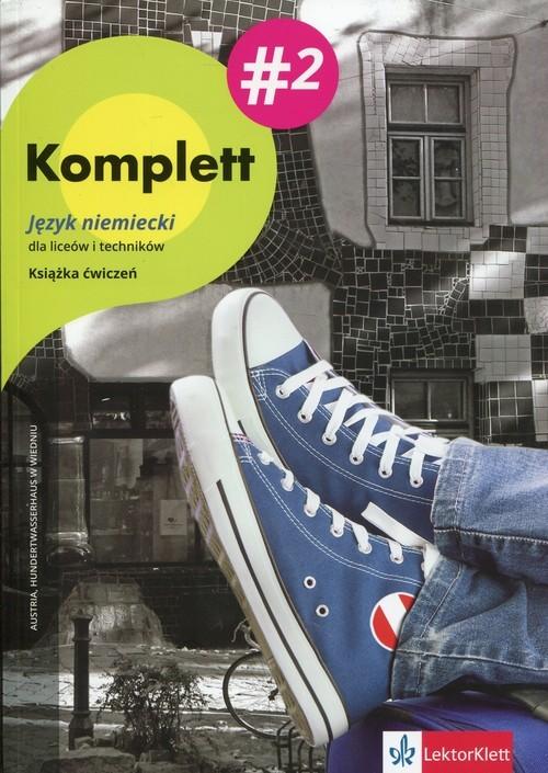 okładka Komplett 2 Książka ćwiczeń + DVD+CD Szkoła ponadgimnazjalna, Książka | Gabriela Montali, Daniela Mandelli, Czernohou