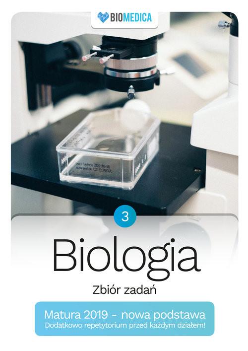 okładka Biologia zbiór zadań Matura 2019 Tom 3, Książka   Jacek Mieszkowicz, Maksymilian Ogiela, M Bryś