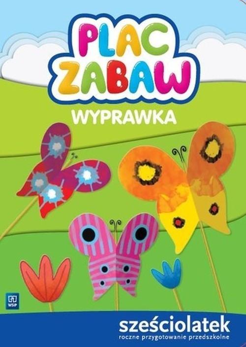 okładka Plac zabaw Wyprawka Sześciolatek, Książka | Anna Idzikowska-Guzy, Ewa Janus