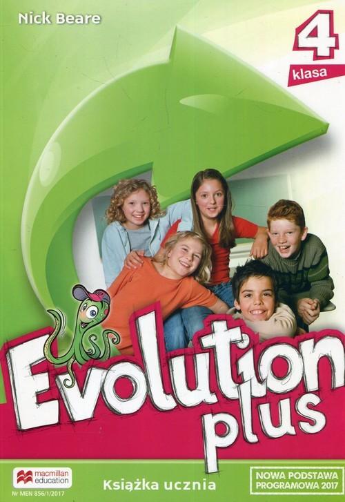 okładka Evolution Plus 4 Książka ucznia Szkoła podstawowa, Książka | Beare Nick