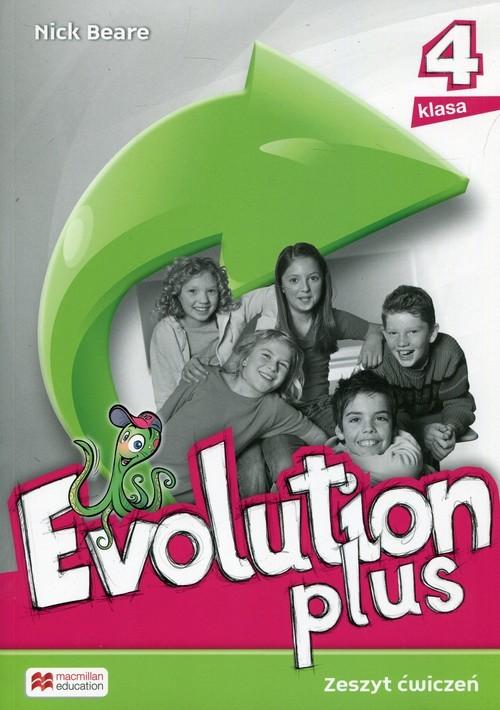 okładka Evolution Plus 4 Zeszyt ćwiczeń Szkoła podstawowa, Książka | Beare Nick