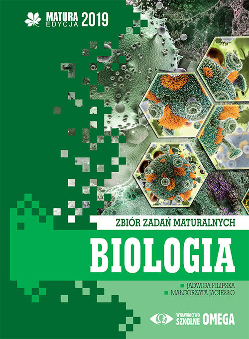 okładka Biologia Matura 2019 Zbiór zadań maturalnych, Książka | Jadwiga Filipska, Małgorzata Jagiełło