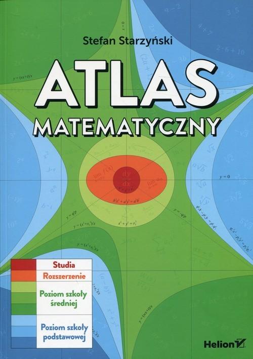 okładka Atlas matematyczny, Książka | Starzyński Stefan