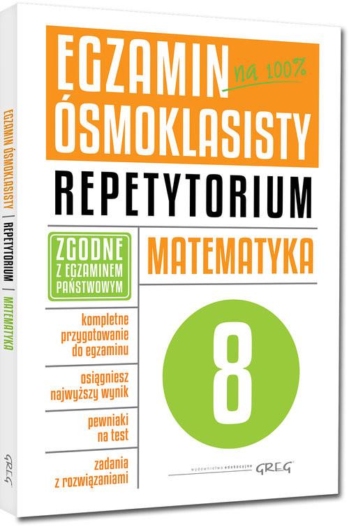 okładka Egzamin ósmoklasisty Matematyka Repetytorium, Książka | Marlena Andrzejczak, Lucyna Butowska, Kiełczy