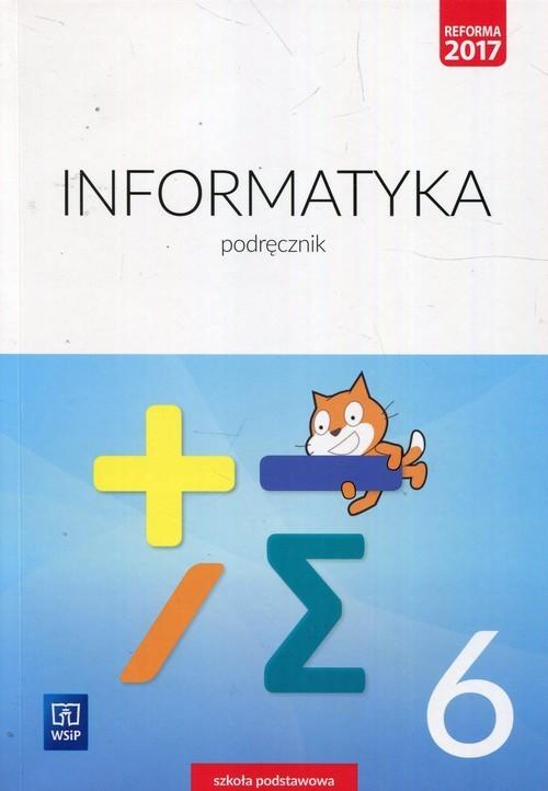 okładka Informatyka 6 Podręcznik Szkoła podstawowa, Książka | Wanda Jochemczyk, Iwona Krajewska-Kranas, Kra