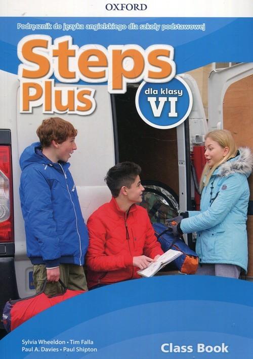 okładka Steps Plus 6 Podręcznik + CD Szkoła podstawowa, Książka | Sylvia Wheeldon, Tim Falla, Paul A. Davies