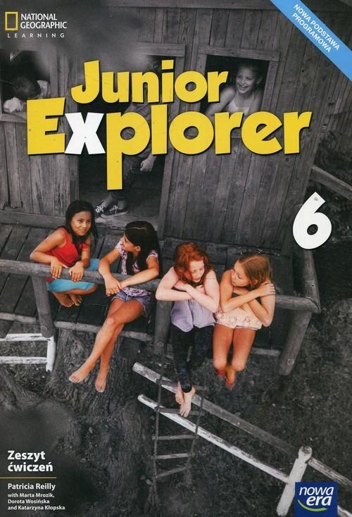 okładka Junior Explorer 6 Zeszyt ćwiczeń Szkoła podstawowa, Książka | Patricia Reilly, Marta Mrozik, Dorot Wosińska