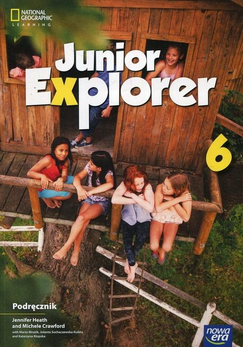 okładka Junior Explorer 6 Podręcznik Szkoła podstawowa, Książka | Jennifer Heath, Michele Crawford, Mart Mrozik
