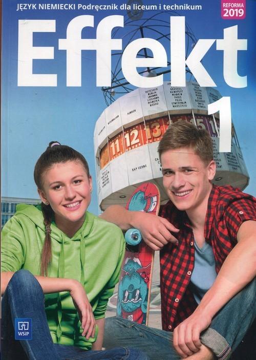 okładka Effekt 1 Język niemiecki Podręcznik + CD Liceum i technikum, Książka | Kryczyńska-Pham Anna