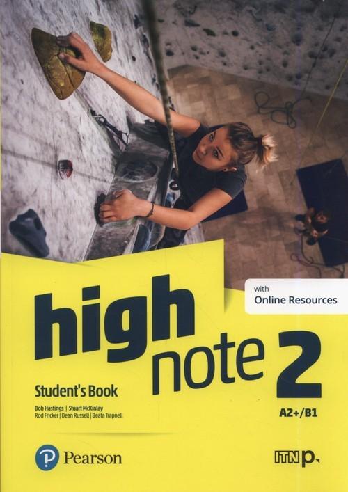 okładka High Note 2 Student's Book Szkoła ponadpodstawowa i ponadgimnazjalna, Książka   Bob Hastings, Stuart McKinlay