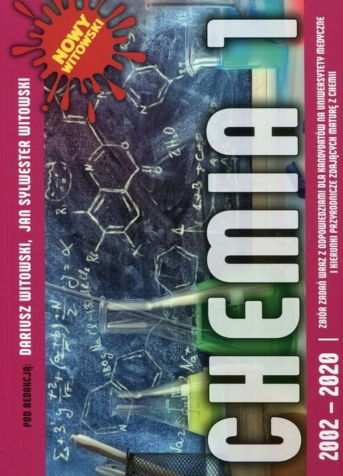 okładka Chemia 1 Zbiór zadań maturalnych wraz z odpowiedziami 2002-2020książka |  |