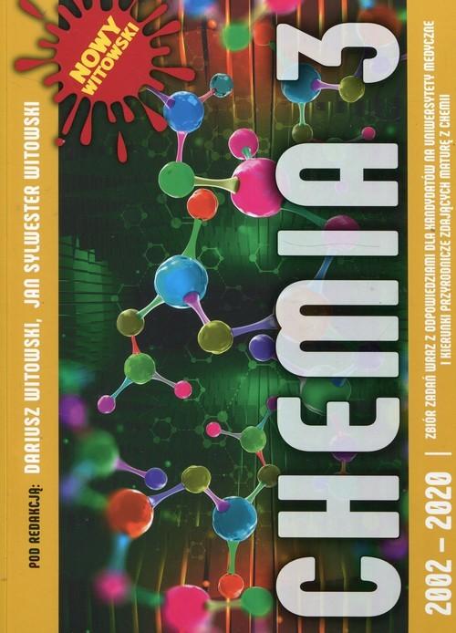 okładka Chemia 3 Zbiór zadań wraz z odpowiedziami 2002-2020książka |  |