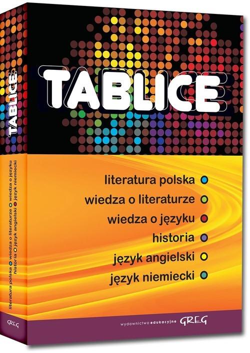 okładka Tablice humanistyczne zbiorcze, Książka |