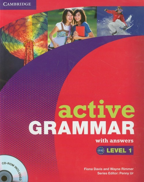 okładka Active Grammar with answers Level 1 + CD, Książka | Fiona Davis, Wayne Rimmer