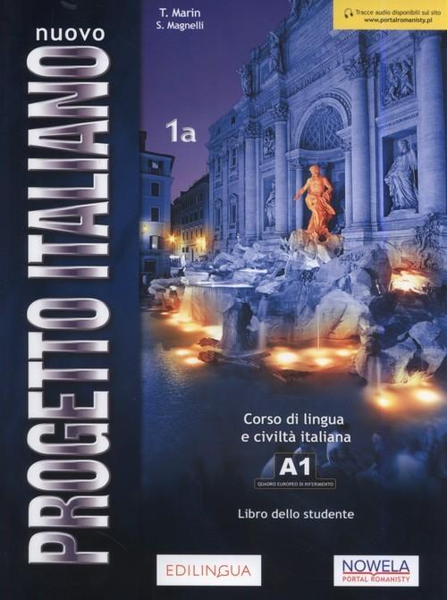 okładka Nuovo Progetto Italiano 1B Podręcznik Szkoła ponadpodstawowa, Książka | T. Martin, S. Magnelli
