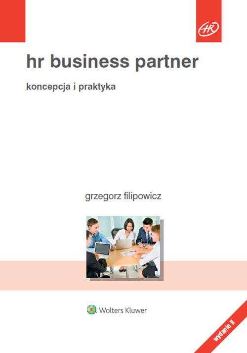 okładka HR Business Partner, Książka | Filipowicz Grzegorz
