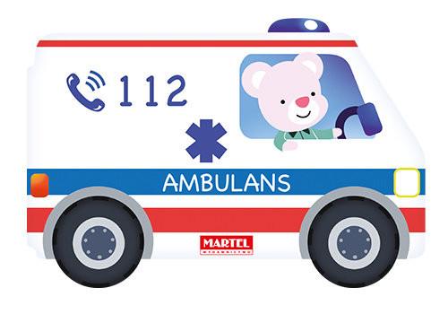 okładka Ambulans, Książka |