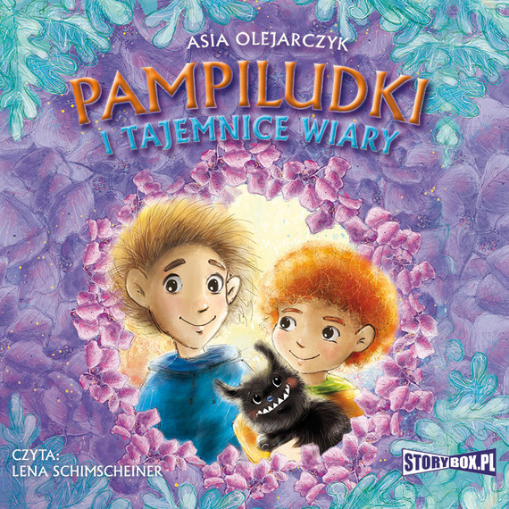 okładka Pampiludki i tajemnice wiary, Audiobook   Asia  Olejarczyk