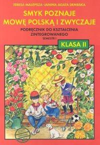 okładka Smyk poznaje mowę 2 Podręcznik Semestr 1, Książka | Teresa Malepsza, Janina Agata Dembska