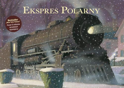 okładka Ekspres Polarny, Książka | Allsburg Chris Van