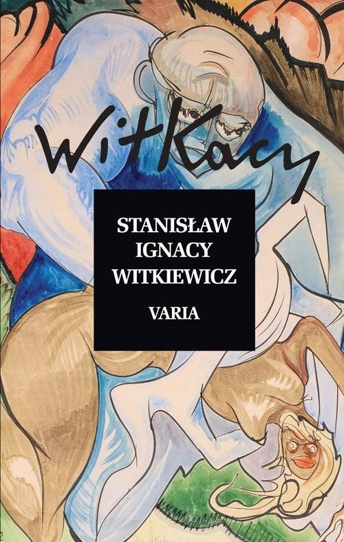 okładka Varia, Książka | Stanisław Ignacy Witkiewicz