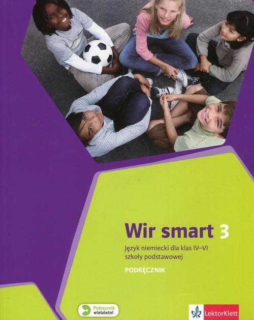 okładka Wir Smart Język niemiecki 3 Podręcznik dla klas IV-VI z płytą CD Szkoła podstawowa, Książka | Ewa Książek-Kempa, Aleksandra Kubicka, Młynar