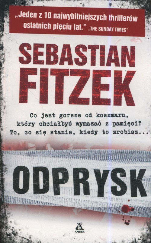 okładka Odprysk, Książka | Sebastian Fitzek