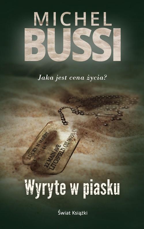 okładka Wyryte w piasku, Książka | Bussi Michel