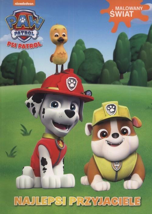 okładka Psi Patrol Malowany świat Najlepsi przyjaciele, Książka |