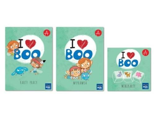 okładka I love Boo Język angielski poziom A+ Pakiet dla dziecka, Książka |