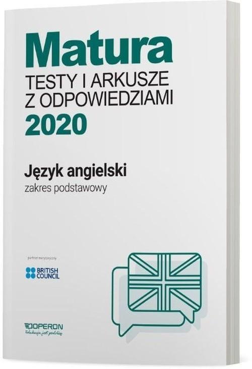 okładka Język angielski Matura 2020 Testy i arkusze z odpowiedziami Zakres podstawowy Szkoła ponadgimnazjalnaksiążka |  | Magdalena Roda, Anna Tracz-Kowalska