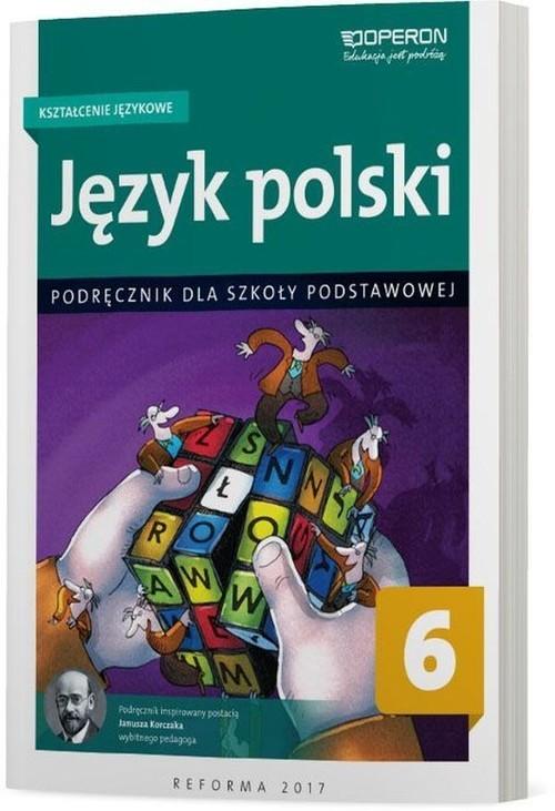 okładka Język polski 6 Kształcenie językowe Podręcznik Szkoła podstawowaksiążka |  | Szaniawska Hanna