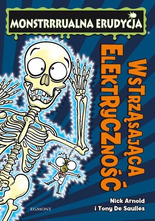 okładka Monstrrrualna erudycja Wstrząsająca elektryczność, Książka | Arnold Nick