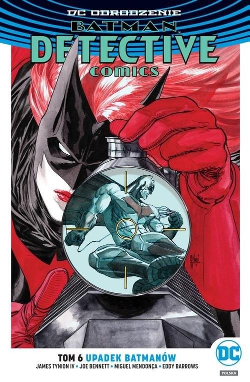 okładka Batman Detective Comics Tom 6 Upadek Batmanów, Książka   James Tynion IV