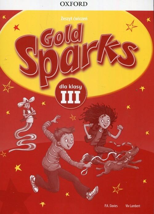 okładka Gold Sparks 3 Zeszyt ćwiczeń, Książka | Paul A. Davies, Viv Lambert