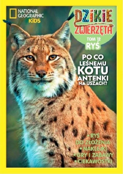okładka Dzikie Zwierzęta 12 Ryś, Książka  