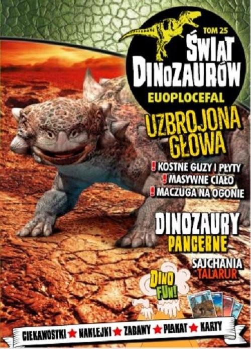 okładka Świat Dinozaurów 25 Euplocephalus, Książka  