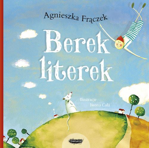 okładka Berek literek, Książka | Frączek Agnieszka
