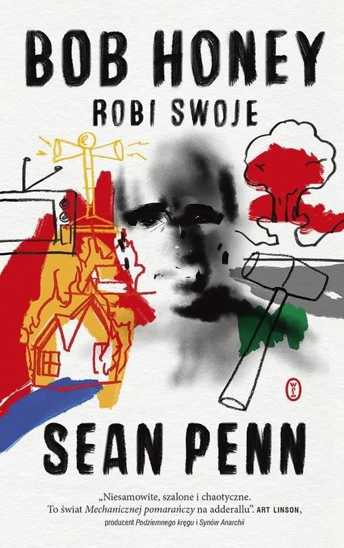 okładka Bob Honey robi swojeksiążka      Penn Sean