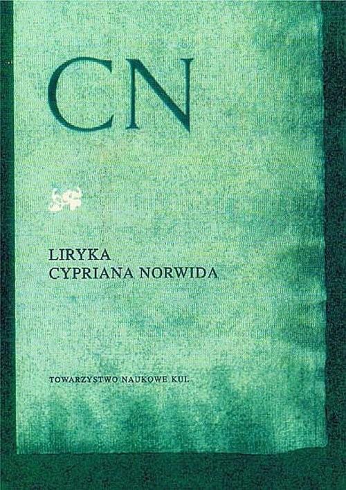 okładka Liryka Cypriana Norwida, Książka |