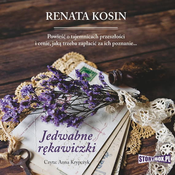 okładka Jedwabne rękawiczkiaudiobook | MP3 | Renata Kosin